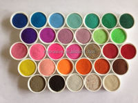 Natural Colored Sand dry color with 45 colors