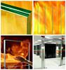 factory supply door/ window anti fire glass