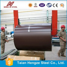 Lower in price color coated steel coil/aluzinic steel coil for carrying trade