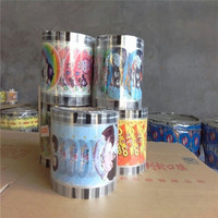 Cup cover food grade sealing film