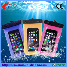 Beach Swimming Waterproof bag for phone Plastic Suitable for lots of mobile phone waterproof bag