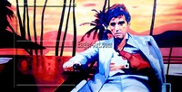 Wholesale Handmade Decorative Scarface Canvas Painting