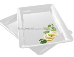 Factory produce restaurant serving tray, thick plastic serving tray,bar plastic serving tray