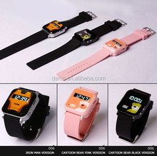 Professional Technology Wrist Watch GPS Tracker Mini Personal GPS Tracker Watch for Kids Child Elderly with 1.5 Inch LCD Screen