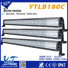 On sale high quality double row 180W led light bar cover for offroad car with 12 monthhs warranty