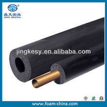NBR/ EVA /PE/PVC foam Thermal insulation tube, customize foam pipe insulation
