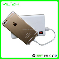 electronic 2014 hot new products improve gadgets power bank ultra slim battery