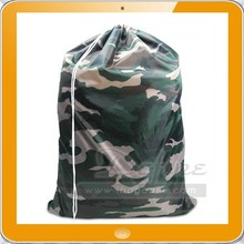 lightweight strong nylon laundry bag with drawstring