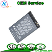 manufacture mobile phone battery 520 521 525 5230 Nuron 5233 5238 5800 5802 X6 C3 for NOKIA BL-5J