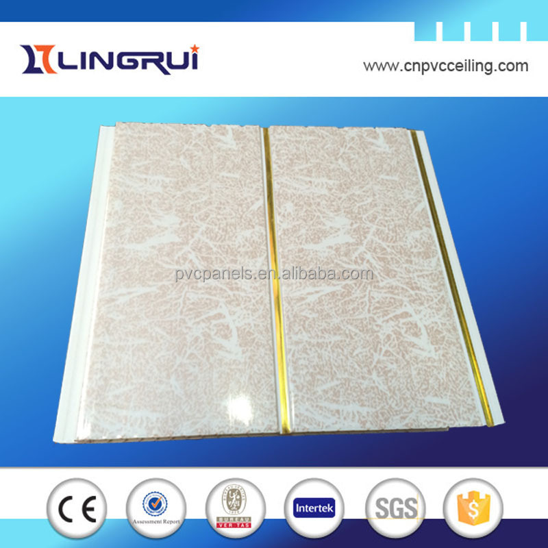 600 600 Pvc Plastic Ceiling Tiles Decorative Fixing Wall Board Modern Design