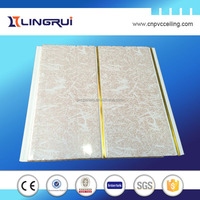 600*600 pvc plastic ceiling tiles decorative fixing wall board modern design products for 2015