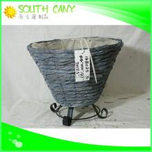 High quality practical wholesale plastic plant pots flexible