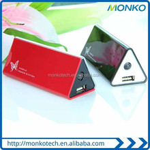 Special Design Super Slim Portable Smart Triangle Mobile Power Bank Power Charger