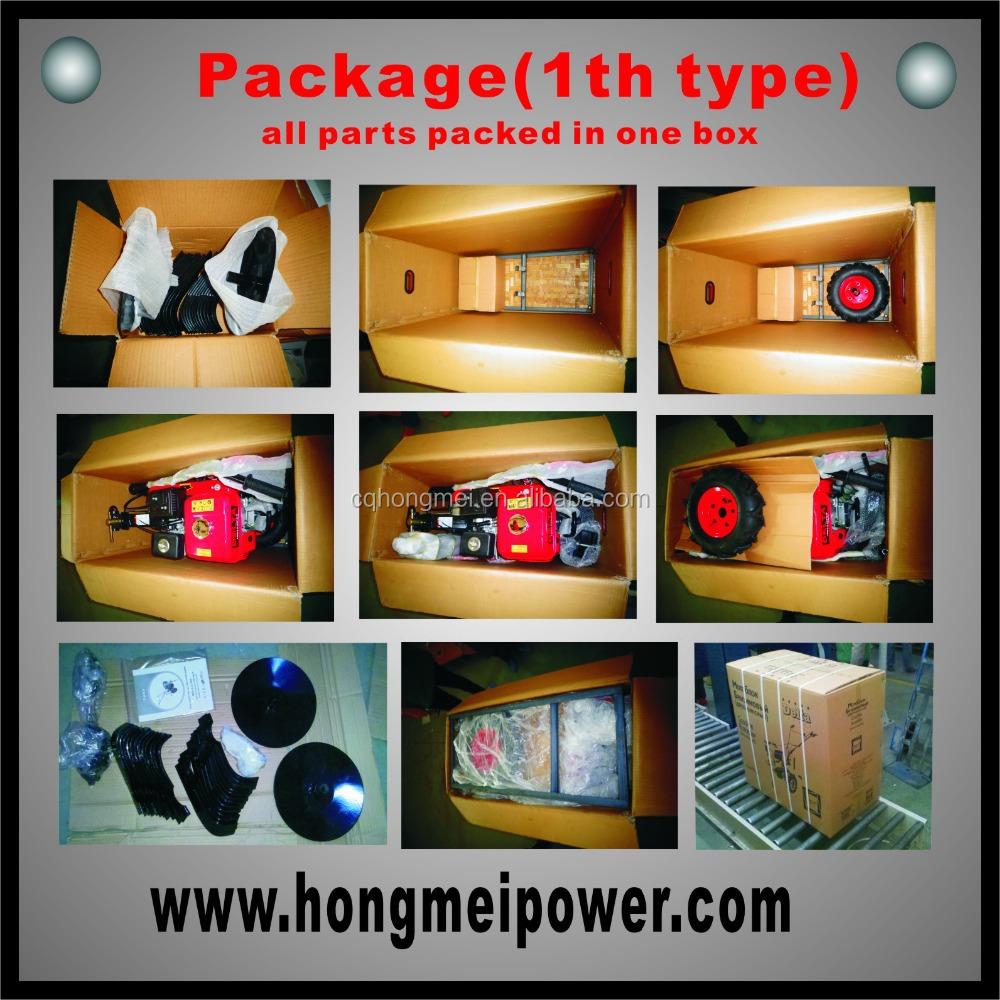 2015 venda quente! Motor enxada / gasolina leme HM500 / Ce / poder leme / cultivador