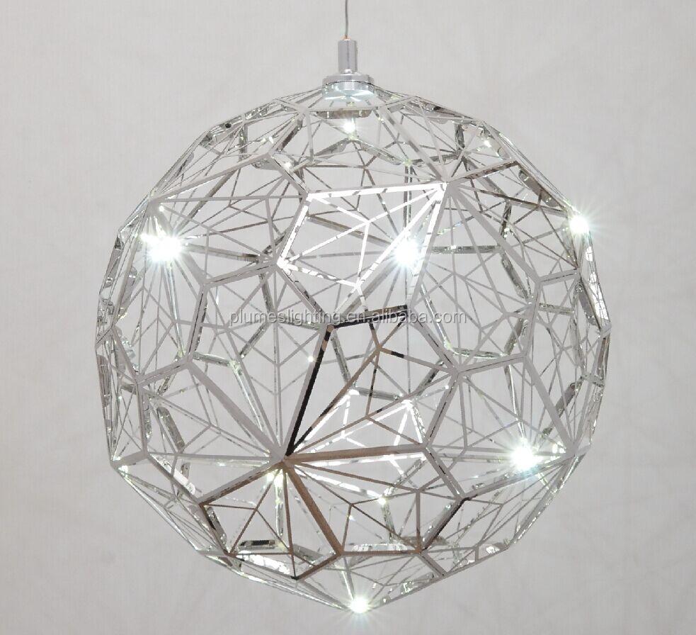 replica tom dixon etch light web led pendant light audi