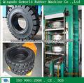 toma de neumáticos de la máquina / vulcanización de neumáticos de prensa