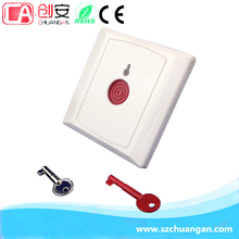 PB-28A Key or Automatic Reset Push Button Alarm/Emergency Button