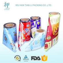 Pet/al/pe plastic packaging lamination roll film