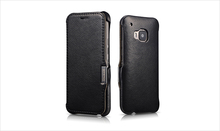 Luxury Genuine Leather Flip Mobile Phone Cover Case For HTC ONE 2 M9