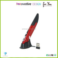Hot selling design with cheap promotional pen wireless computer mouse pen shaped with mini receiver from China Factory