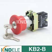 emergency stop push button reset key switch,B2-BS142