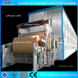 3200mm good quality paper machine, kraft paper/fluting paper/corrugated paper making machine,raw material:recycled paper