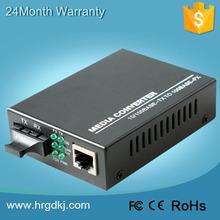 HR-100 Series 100Base Single Mode Optical Fast Ethernet Fiber Media Converter,SC ,100KM