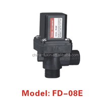 plastic touch free sanitary parts black electric water valve flow control 6v water solenoid valve