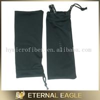 Professional black drawstring velvet pen bag, handmade felt pen bag, packing eva bag