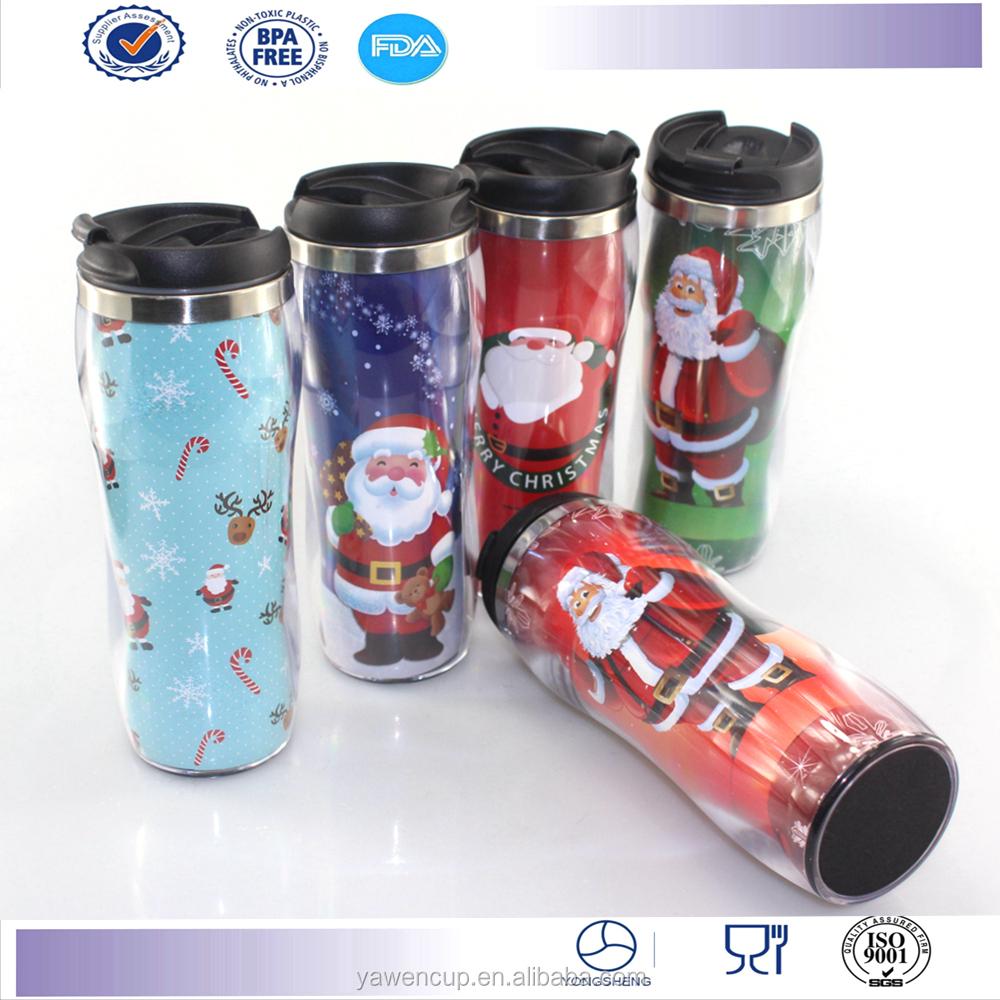 New Design Starbucks Coffee Mug Tumbler Christmas Travel ...