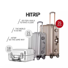 ABS High Quality Long Life Span Trolley Travel Aluminium Luggage Set/Suitcases/Trunk For Travel And Business