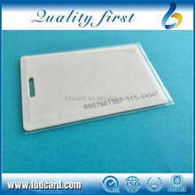 UHF Programmable RFID Aline H3 ID Clamshell Card H3 RFID Cards Long Reading Distance