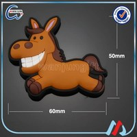 sedex 4p 3d horse rubber fridge magnet(fm-131)