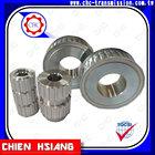 Material de alumínio de aço plástico padrão ou personalizar correia dentada polia