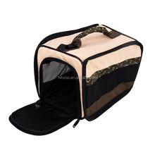 Eco-friendly Travel pet carrier dog bag Ventilated outdoor pet trabsport bag waterproof cute pet shopbag