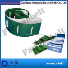 Pvc/pu Baffle Edge Conveying Belt, high frequency welding
