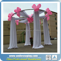 wedding pipe and drape for outdoor event