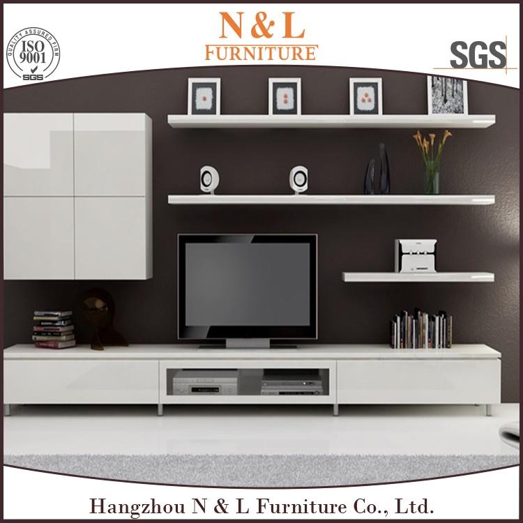 2017 venda quente mobília da sala de estar moderna tv stand de ...