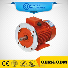 Fan cool three phase ac electric motor