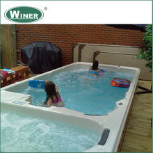 2014 sexy massage large spa pool hot sale endless outdoor spa pool