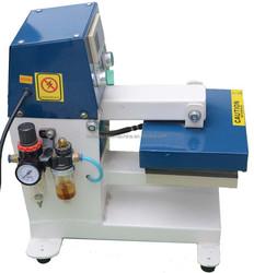 semi- automatic pneumatic single station mark heat transfer machine