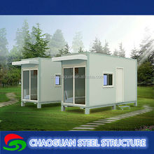 Prefab flat pack office/movable houses/ container house for sale