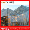 grinding tempered glass ,glass curtain wall