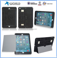 Handhold flip stand leather case for ipad air 2