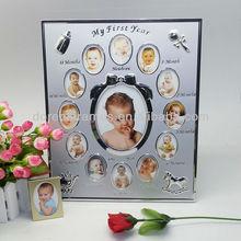nuevo diseño de primer bebé del año marco de fotos