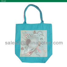 china wenzhou customized canvas/cotton shopping bags
