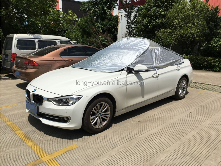 Aioiai Automatic Folding Waterproof Portable Car Cover ...
