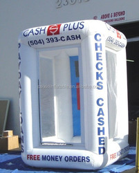 popular inflatable cash money both for sale /festival/party decoration ,new inflatable money cube/inflatable booth