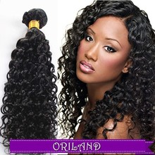 Discount double drawn weft afro kinki deep wave virgin curly 100 braiding purple cuticle remy 100 remy human hair weave