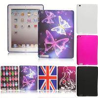 TPU Silicone Printed Gel Case Cover For Apple iPad 2/ 3/ 4/ 5 Air/ Mini / Mini 2